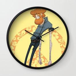 Hippy Wall Clock