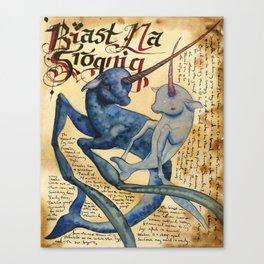 Biast Na Srognig Canvas Print