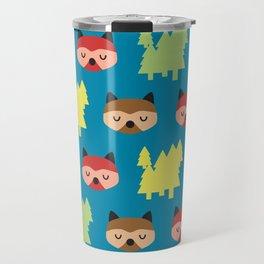 The Bandit Raccoons II Travel Mug