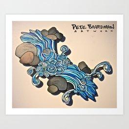 River Runs Wild Art Print