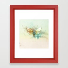 Mr.Summertime (Cicada Skins) Framed Art Print