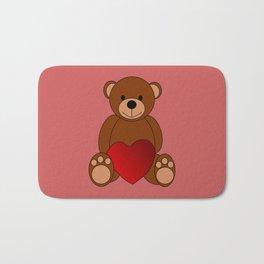 Teddy Love Bath Mat