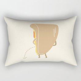 Pee-zza Rectangular Pillow