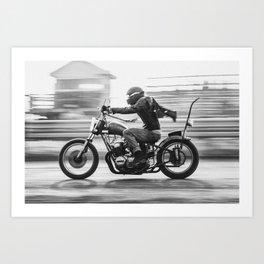 Full Speed Chopper Art Print
