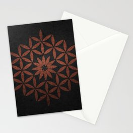 The Flower of Life - Ancient copper Stationery Cards