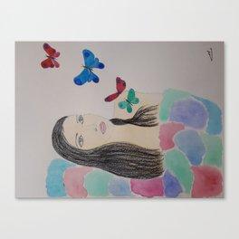 Butterflies of inspiration Canvas Print