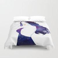 celestial Duvet Covers featuring Celestial IV by Stevyn Llewellyn