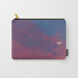 A Lone Flight Amongst The Pastel Unknown. Carry-All Pouch