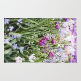 Spring Floral  //  The Botanical Series Rug