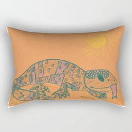 Gila Monster Rectangular Pillow