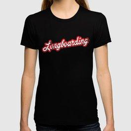 longboarding - vintage & distressed T-shirt