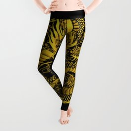 Epic Dragon Yellow Leggings