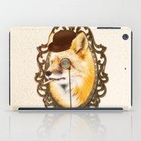 mr fox iPad Cases featuring Mr Fox by mattdunne