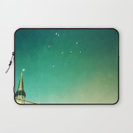 That's Where You'll Find Me V1 Laptop Sleeve