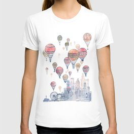 Voyages Over Santa Monica ~ Refresh T-shirt