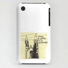 today is going to be wonderful Slim Case iPhone (3g, 3gs)
