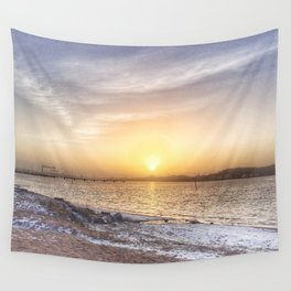 Soft colours under a weak sun Wall Tapestry