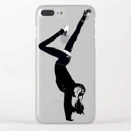 Handstand 1 |Grace Gallo Clear iPhone Case