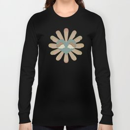 Hedge Hog Flower Power Long Sleeve T-shirt