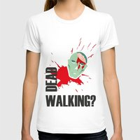 walking dead T-shirts featuring dead walking by Tudisco