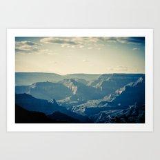 Grand Canyon in April Art Print