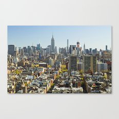 New York City from Tribeca. Canvas Print