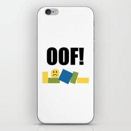 Roblox Oof iPhone Skin