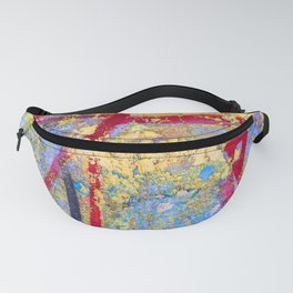 Textures in paint Fanny Pack