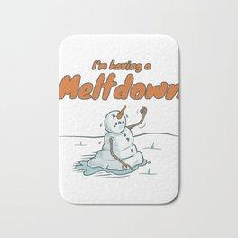 I'm Having A Meltdown Bath Mat