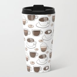 Coffee Cups Metal Travel Mug