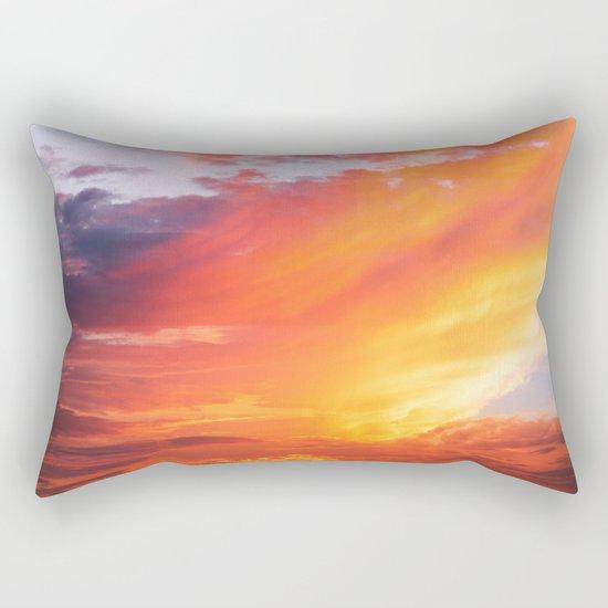 Alternate Sunset Dimensions Rectangular Pillow