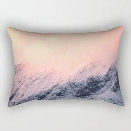 Mount Aspiring Rectangular Pillow