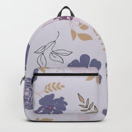 Floral Pattern 111-20CW2 Backpack