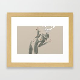 get ready to fly Framed Art Print
