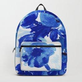 blue stillife Backpack