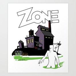 The Factory Art Print