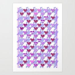 Sweetooth Love Art Print
