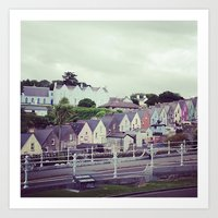 ruben ireland Art Prints featuring Ireland by Alyssa Leary
