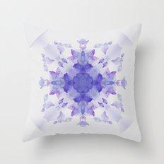 Digital nature Throw Pillow