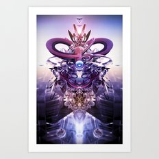 Overseer Art Print