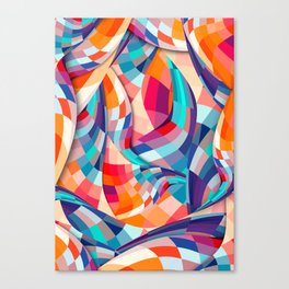 Versicolor Canvas Print