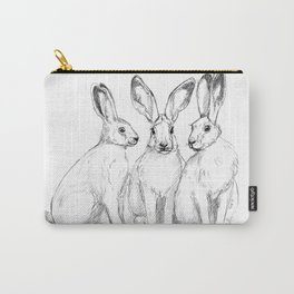 Three Hares sk131 Carry-All Pouch