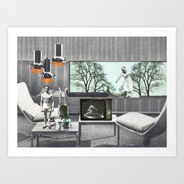 Le salon Art Print