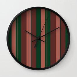 Jungle stripes Wall Clock