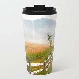 Fenced in Field Travel Mug