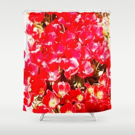 Red my color, my blood. Shower Curtain