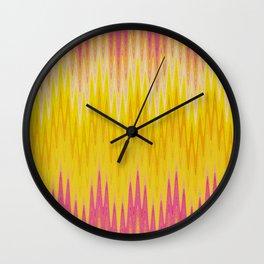 Chevron Pattern Wall Clock