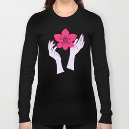 Holy orchid Long Sleeve T-shirt