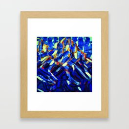 Christian Rohlfs Blue Mountain Framed Art Print