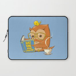 Just One More Chapter Laptop Sleeve